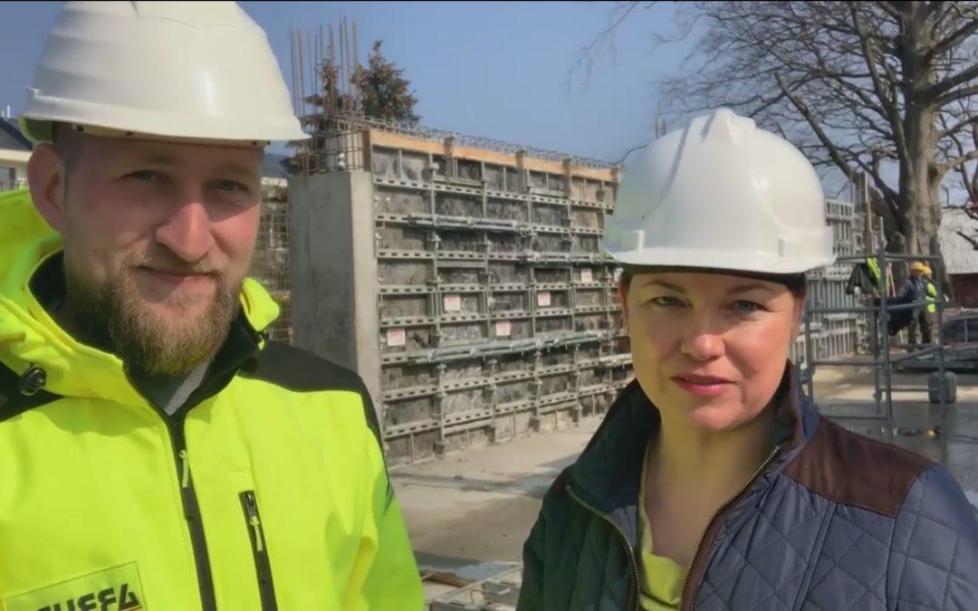 Wywiad z postępu budowy Gea Eco-Apartments Sianożęty